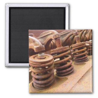 Rusty Engine Block Magnet