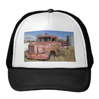 Rusty Fire Truck Mesh Hat