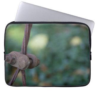 Rusty Foliage Laptop Sleeve