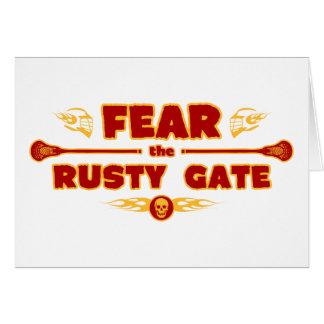Rusty Gate Card