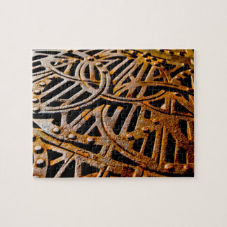 Rusty Grate Jigsaw Puzzle