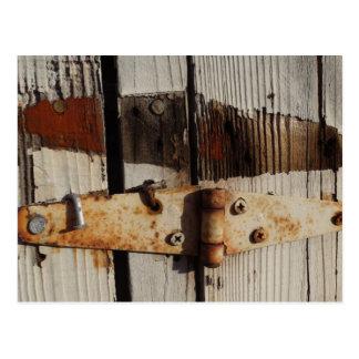 Rusty Hinge Postcard