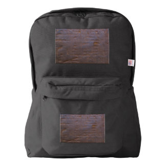 Rusty Iron Texture Background Backpack