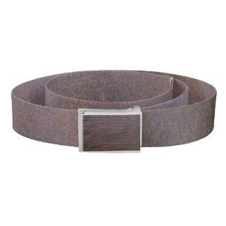 Rusty Iron Texture Background Belt