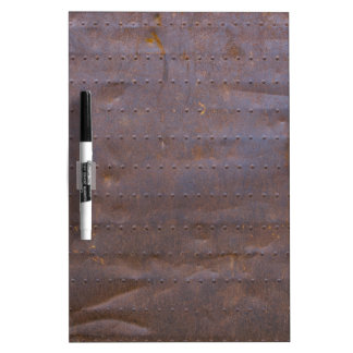 Rusty Iron Texture Background Dry Erase Board