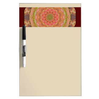 Rusty-Mandala / Rost-Art Dry Erase Board