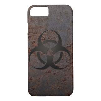 Rusty Metal Biohazard Symbol Smartphone Case
