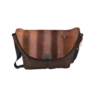 RUSTY METAL COMMUTER BAG