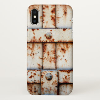 Rusty Metal iPhone X Case