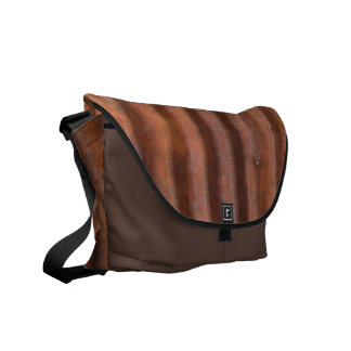 RUSTY METAL MESSENGER BAGS