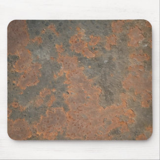 Rusty metal mouse pad