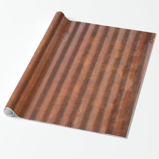 RUSTY METAL WRAPPING PAPER