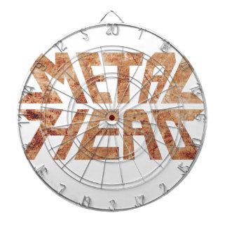 Rusty MetalHead Dartboard