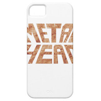 Rusty MetalHead iPhone 5 Covers