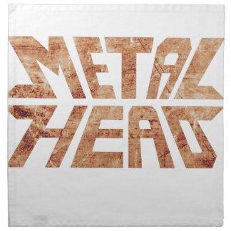 Rusty MetalHead Napkin