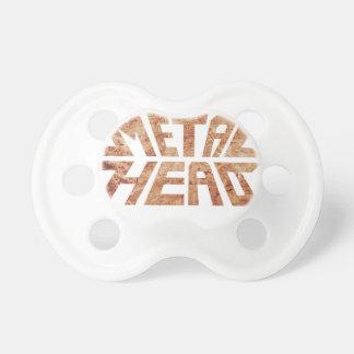 Rusty MetalHead Pacifier