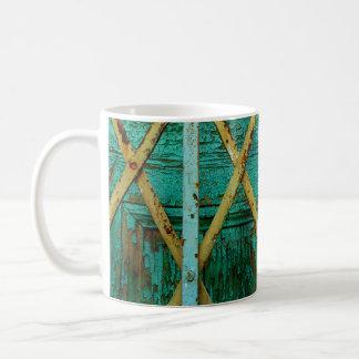 Rusty mug. coffee mug