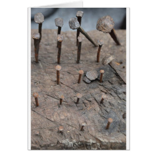 rusty nails card