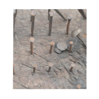 rusty nails notepad