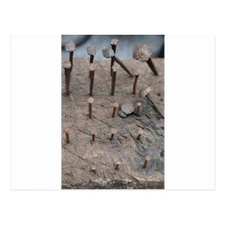 rusty nails postcard
