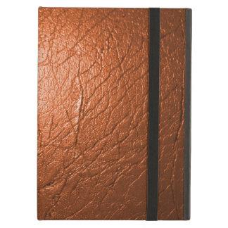 Rusty Orange Leather Powis iPad Case and Kickstand