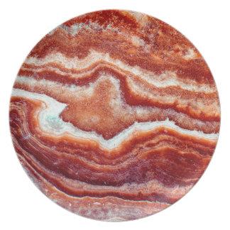 Rusty Quartz Plate