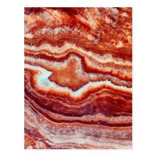 Rusty Quartz Postcard