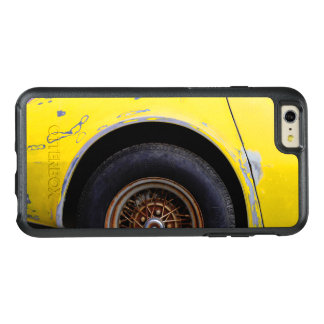 Rusty Roadmaster Tire, Peeling Yellow Painted Car OtterBox iPhone 6/6s Plus Case