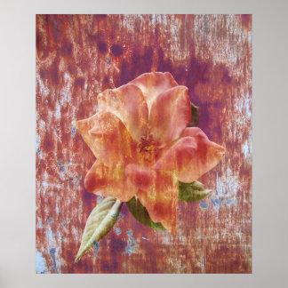 Rusty Rose Print