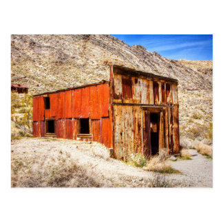 Rusty Ruins Postcard