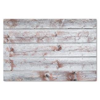 Rusty Rural Vintage Village Barn Wood Farm Theme Tissue Paper