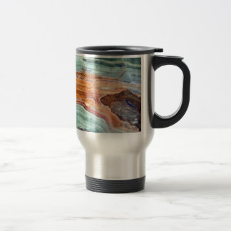 Rusty Sagey Minty Quartz Travel Mug