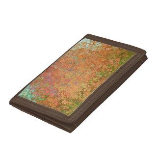 Rusty sheet trifold wallet