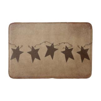 Rusty Stars Bath Mat