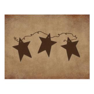 Rusty Stars Recipe Card