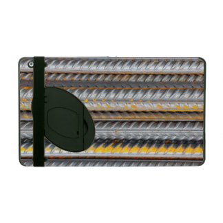 Rusty Steel Bars Pattern iPad Case