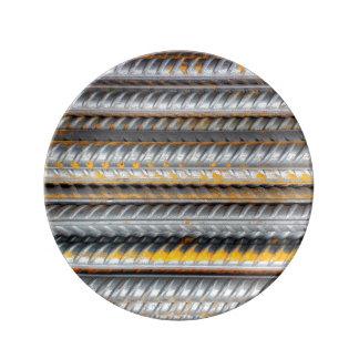 Rusty Steel Bars Pattern Plate