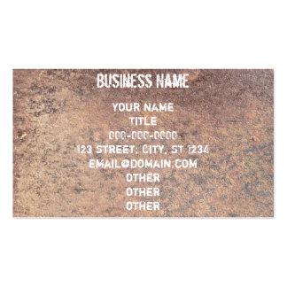 Rusty Steel Business Card
