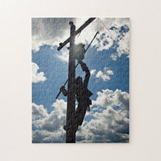 Rusty the Lineman Jigsaw Puzzle
