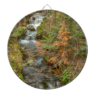 Rusty The Pine Tree and The Flowing Stream Dart Board