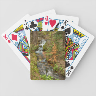 Rusty The Pine Tree and The Flowing Stream Poker Deck
