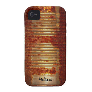 Rusty Tin Food Can Case-Mate iPhone 4 Covers