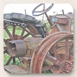 Rusty Tractor Coaster