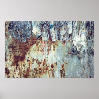 Rusty wallpaper poster