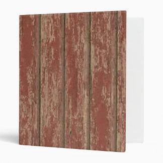 Rusty Weathered Board 3 Ring Binders