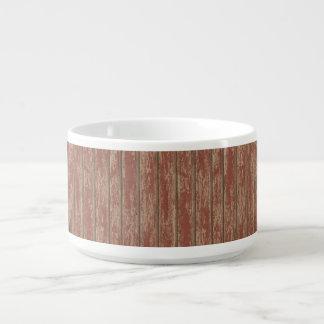 Rusty Weathered Board Bowl