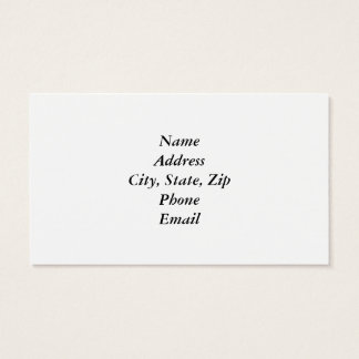 Rusty Weathered Board Business Card