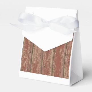 Rusty Weathered Board Wedding Favor Box