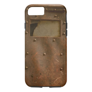 Rusty welding helmet iPhone 7 case