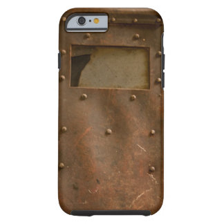 Rusty welding helmet tough iPhone 6 case